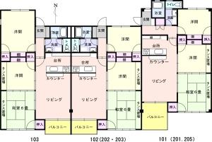 FKTハウス 間取図