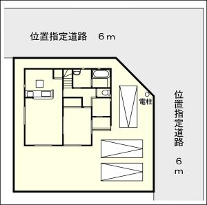 一本田 区画図